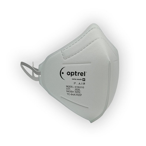 Optrel 4190.010 P.AIR N95 Disposable Respiratory Mask (Box of 40)
