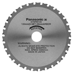 Panasonic EY9PM13C 5-3/8 in. 30T Metal Cutting Saw Blade with 20mm Arbor
