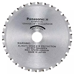 Panasonic EY9PM13E 5-3/8 x 13/16 in. 3600 RPM Carbide Tipped Cordless Saw Blade