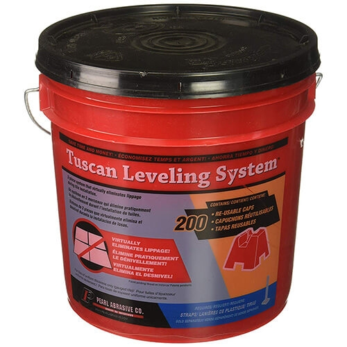 Pearl 875474 Tuscan Leveling Reusable Caps 200 Bucket