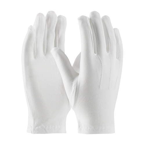 PIP 130-650WM Men's Cabaret 100% Stretch Nylon Dress Gloves with Raised Stitching on Back - Snap Closure