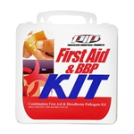 Protective Industrial Products PIP 299-17030 First Aid and Bloodborne Pathogens Kit