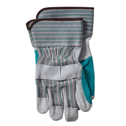 Protective Industrial Products WA4225A - Brahma Work Gloves - Leather Palm Gloves