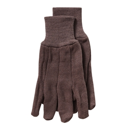 PIP WA7533A Brown Jersey Gloves, 10 oz. Large