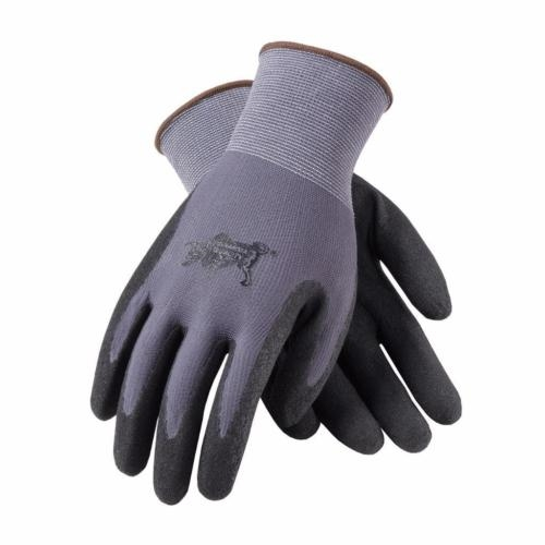 PIP WA9182A Black Nitrile Coated Gloves M 12pk