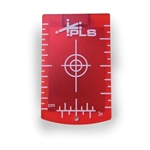 PLS 4792099 Red Magnetic Laser Target Card (No leg)