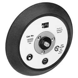 "Porter Cable 16000 - Porter Cable 6"", 0 Hole PSA Replacement Pad for Model 7336, 7336SP"