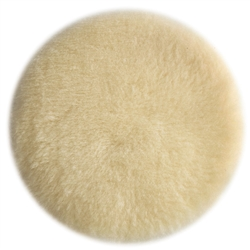 "Porter Cable 18007 - Porter Cable 6"" Hook and Loop Lambs Wool Polishing Pad"