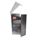 "PrimeSource MAXB64877 Stainless Steel 1 gauge Straight Brad Nails 1-1/2"" 304SS - 1,000 pc Belt Clip"