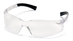 Pyramex S2510S Ztek Safety Glasses, Standard Size, Clear Lens and Frame - 12 Pack