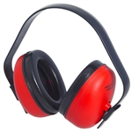 Radian DF0310HC Defender Hearing Protector Earmuff Red 23db