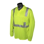 Radians ST22-2PGS Class 2 Hi-Viz Long Sleeve Polo