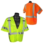 Radians SV3-ZGM Economy MeshType R Class 3 Vest, High Vis Green