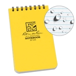 Rite in the Rain 135 3X5 Top Spiral Notebook - Yellow