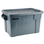 Rubbermaid 90-9S31-A1 BRUTE Tote with Lid, 20 Gallon Capacity
