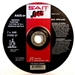 United Abrasives SAIT 22021 Type 27 4-1/2-Inch x .045-Inch x 7/8-Inch A60S General Purpose Depressed Center Cutting Wheels, 50-Pack