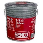 Senco 08D200W All Purpose Exterior Wood To Wood Collated Decking Screws 1000 Pack
