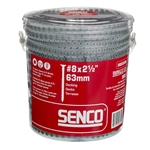 Senco 08D250W All Purpose Exterior Wood To Wood Collated Screws 800 pack
