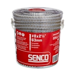 Senco 08S250W592 2 1-2in. Composite Decking Screws
