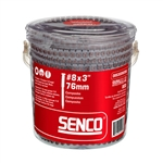 Senco 08S300W596 8 Gauge 3in. Composite Decking Screws, Red
