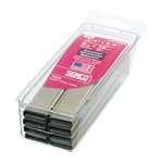 Senco A800629 18 Gauge by 1/4-inch Crown by 5/8-inch Leg Electro Galvanized Staples (1, 200 per box)