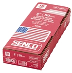 Senco DA21EPBN 15 Gauge x 2 Inch Bright Basic 34 Degree Angled Strip Finish Nails 4000 Pack