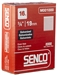 Senco 16 x 2 1/2in T head Smth  EG Finish Nail
