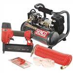 Senco Pc0947 Finishpro18 Brad Nailer Compressor Kit