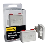 Stabila 20085 Type 80T Level End Caps 2 Pack