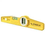 "Stabila 25010 10"" Die-Cast Torpedo Level without Magnets (Type 81SM)"
