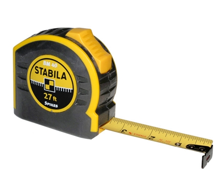 Stabila BM40 Tape Measure 27 Feet