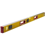 Stabila 39340 48-Inch Spirit Level Type196 w-LED Lights