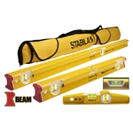 Stabila 48410 R Beam 3 Level Tool Set Type R 300