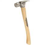 "Stiletto FH10C 10oz Titanium Finish Hammer with 14.5"" Curved Hickory Handle"
