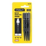 Stanley Hand Tools 58-230 3 Piece Nail Set