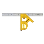 Swanson TC131 12 Inch Speedlite Combination Square (Yellow) (Stainless Steel Blade) by Swanson