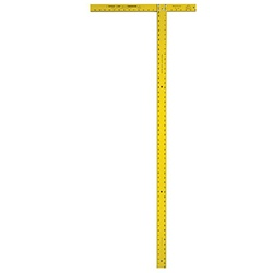 Swanson TD540 54 Inch Wallboard Square (Yellow) by Swanson