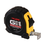 Tajima Hand Tools G-16/5MBW Features 16 ft. / 5 m x 1 inch wide steel tape with new Hyper-Coat blade coating