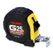 Tajima Hand Tools G-25BW Features 25 ft. x 1 inch wide steel tape with new Hyper-Coat blade coating