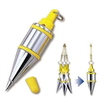 Tajima Hand Tools PQB-300 Features Unique plumb bobs with quick-stabilizing cap that reduces bob wobble and spin