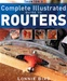 Taunton Press 070827 Complete Illustrated Guide to Routers Book, Paperback 9-3/16 x 10-7/8 in. 240 pages, with color photos and drawings