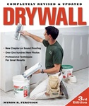 Taunton Press 070966 Taunton's Drywall: 3rd Edition 224 pages  Published 2008