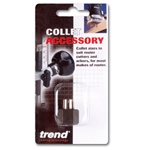"Trend Tools U*CE/127635 Collet Extension 1/2"" shank to 1/4"" collet"