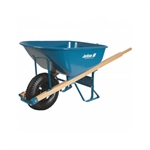 Ames True-Temper M6FFBB Jackson Professional Flat Free Tire Wheelbarrow