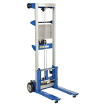 Vestil A-LIFT-R Winch Lift Truck Fixed Straddle 500 Lb