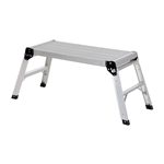 Vestil AFSP-2 Aluminum Folding Step Platform 15x35 In