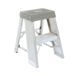 Vestil AISS-1 Aluminum Industrial Step Stand 1 Step