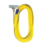 Voltec 05-00124 Yellow 12/3 50ft Tri Tap Extension Cord