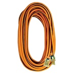 Voltec 05-00343 100ft 14/3 SJTW Orange/Black Ext Cord w/Lighted Ends