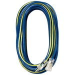 Voltec 05-00349 12 3 Sjtw Outdoor Extension Cord with Lighted End